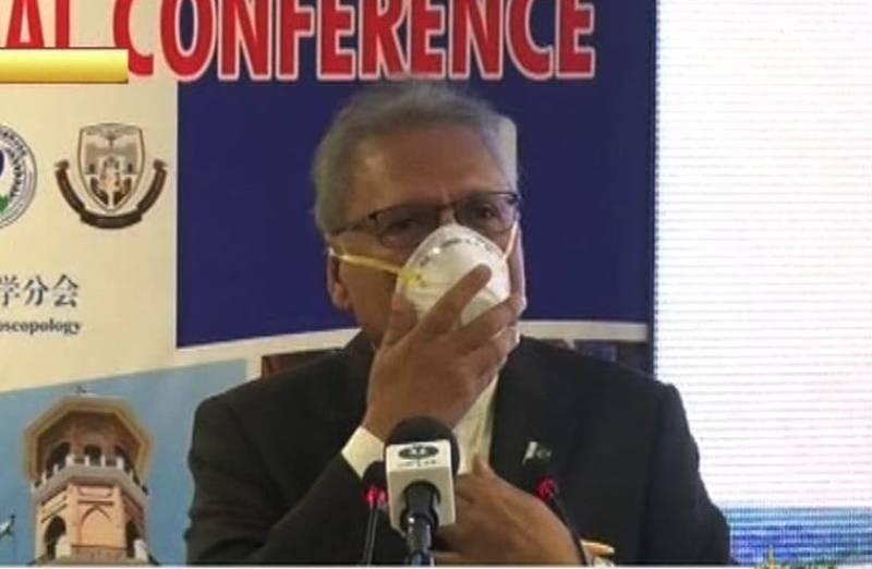 President Arif Alvi tests positive for coronavirus