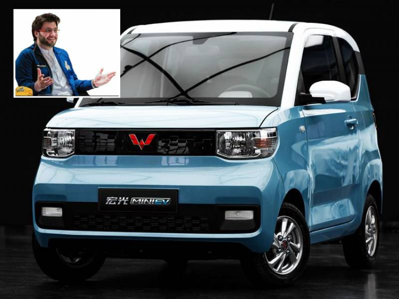 Javed Afridi hints at mini electric vehicle for Pakistan that will cost less than Rs 1mn (VIDEO)