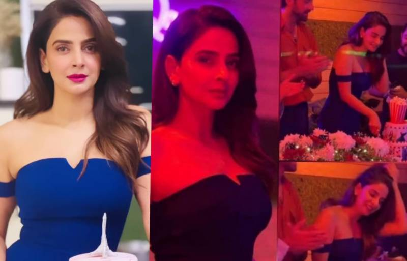 Celebrities wish Saba Qamar on her birthday