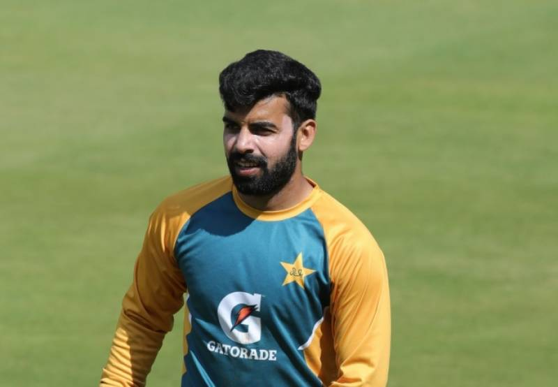 Injured Shadab Khan ruled out of Africa tour