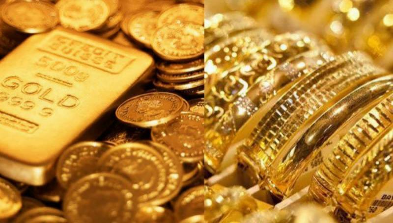 Today's gold rates in Pakistan — 05 April 2021