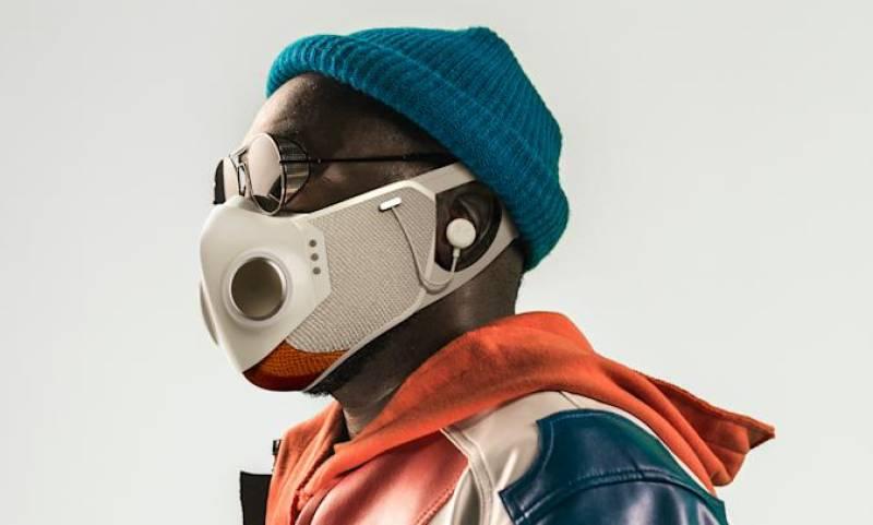 Future of face masks? Rapper will.i.am unveils hi-tech smart mask