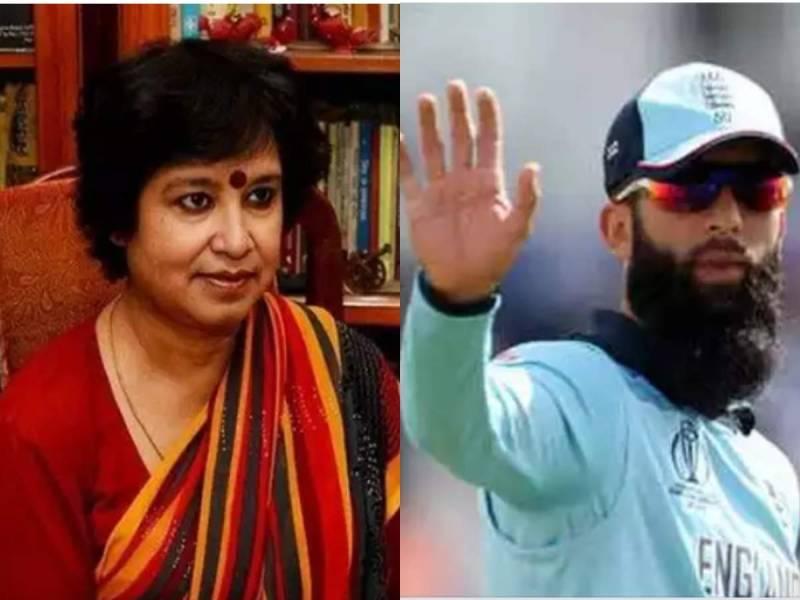 English cricketers blast Taslima Nasreen over contentious tweet against Moeen Ali