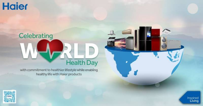 Haier celebrating World Health Day