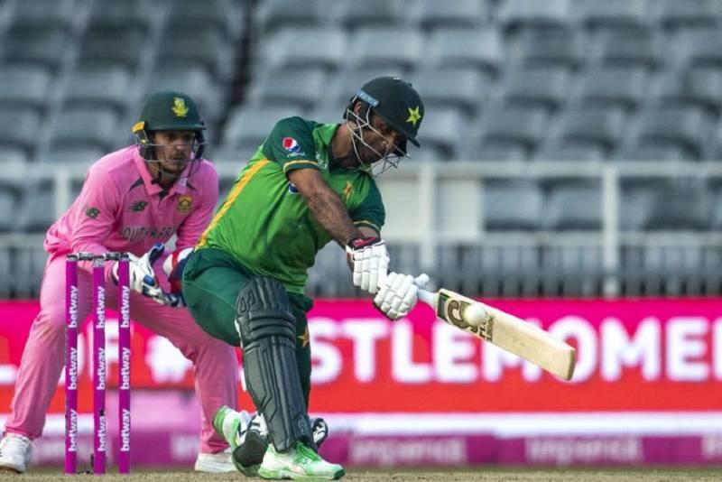 PAKvSA: Pakistan beat South Africa to seal ODI series