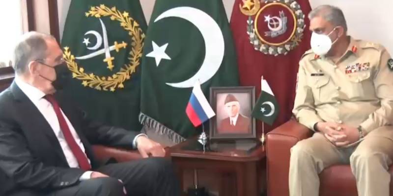 Russia's Lavrov, COAS Bajwa discuss defence, security cooperation