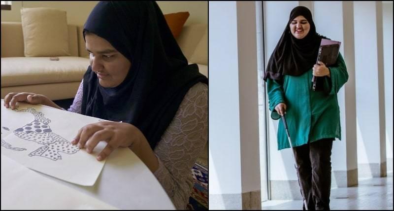 Visually-impaired Khansa Maria from Pakistan wins Oxford scholarship