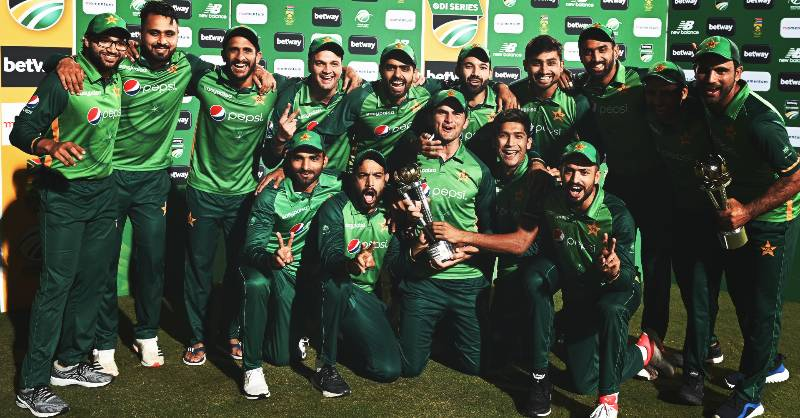 ICC changes Twitter cover to join Pakistan's ODI victory celebrations