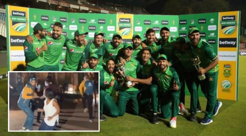 PAKvSA: This epic Pakistani team celebration video is a must-watch