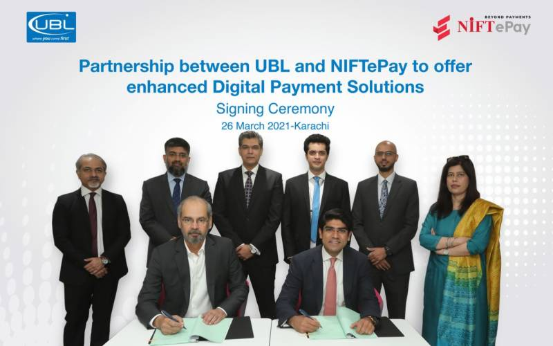 UBL Digital partners with NIFT to provide convenient ecommerce payments solution