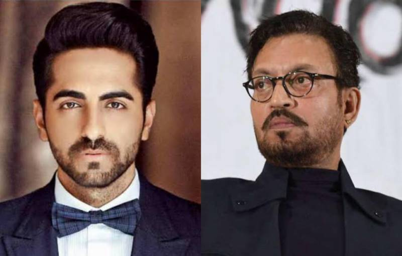 Ayushmann Khurrana pays a poetic tribute to Irrfan Khan at Filmfare Awards 2021 (VIDEO)