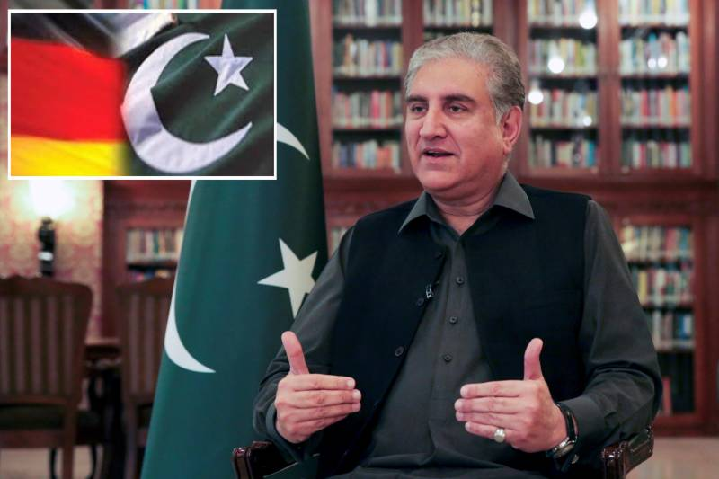 FM Qureshi departs for Germany to boost bilateral ties
