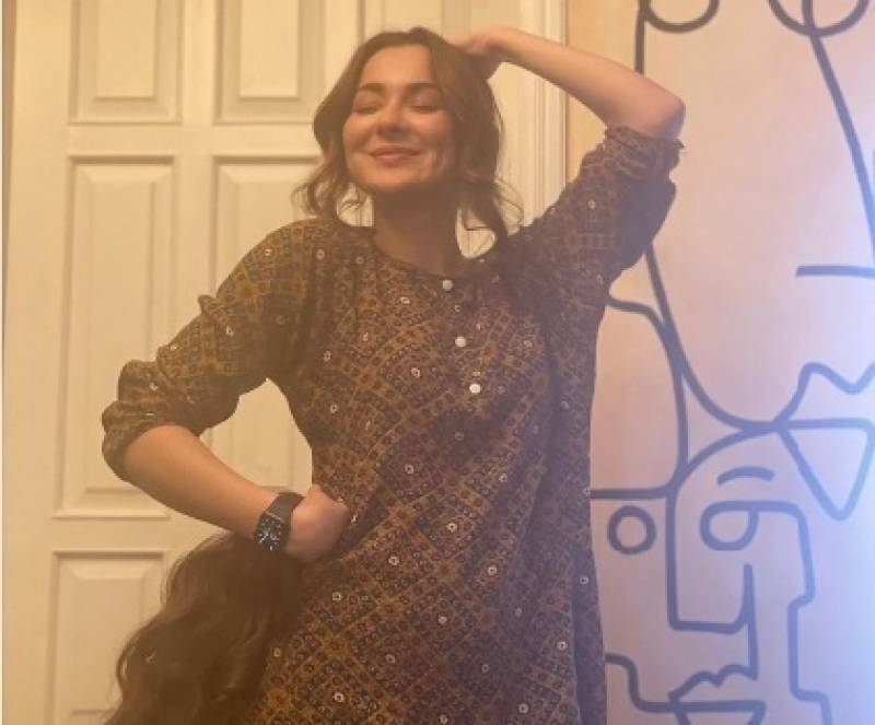 Hania Aamir looks adorbale in kurta-shorts pics