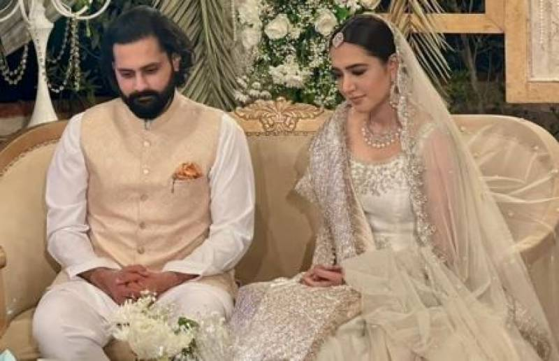 Jibran Nasir ties knot with Mansha Pasha in intimate ceremony