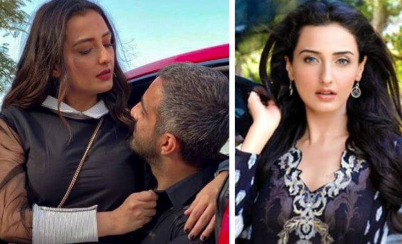 Momal Sheikh's first photoshoot with husband will have you drooling!