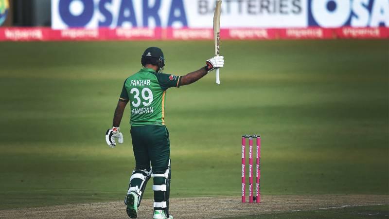 Pakistan cricket team celebrate Fakhar Zaman's birthday (VIDEO)