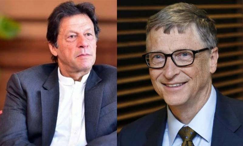 PM Imran seeks Bill Gates' help in combating climate change