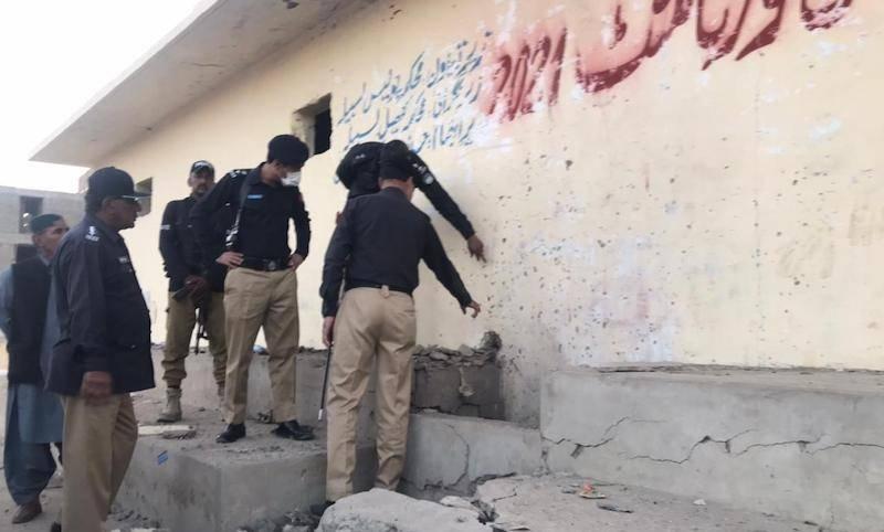 Dozen injured in Balochistan football ground blast