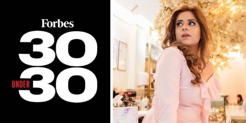 Pakistani chef Zahra Khan featured in Forbes 30 Under 30