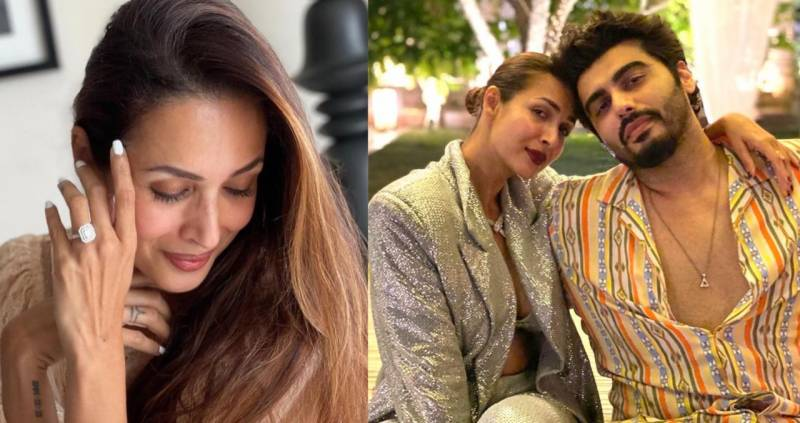 Malaika Arora' latest pics spark engagement rumours