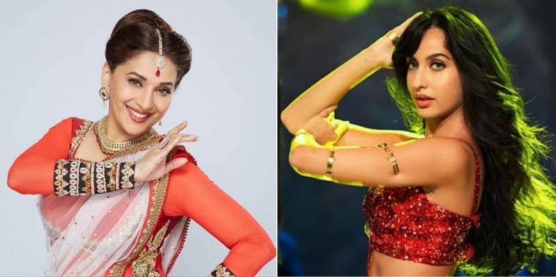 Nora Fatehi, Madhuri Dixit set the stage on fire with killer dance moves