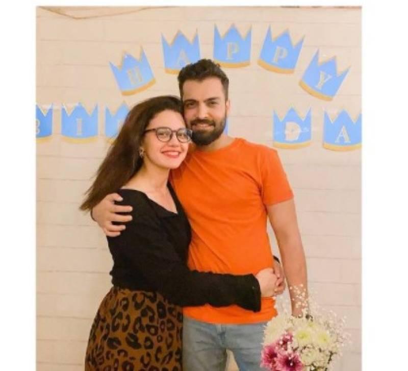 Asad Siddiqui celebrates birthday with wife Zara Noor Abbas