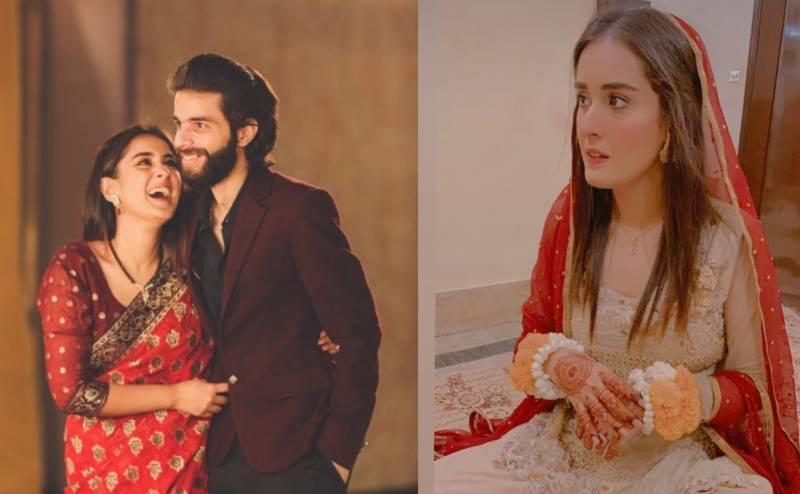 Pakistani actress Shehzeen Rahat ties the knot