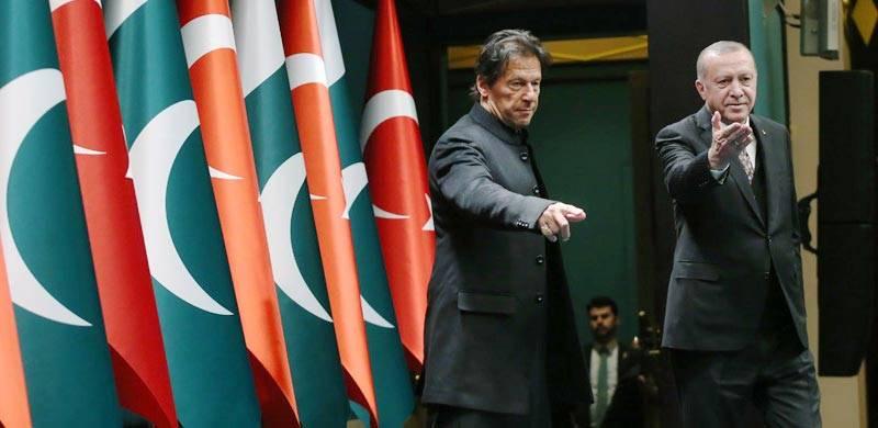 Imran, Erdogan discuss Afghan peace, bilateral ties