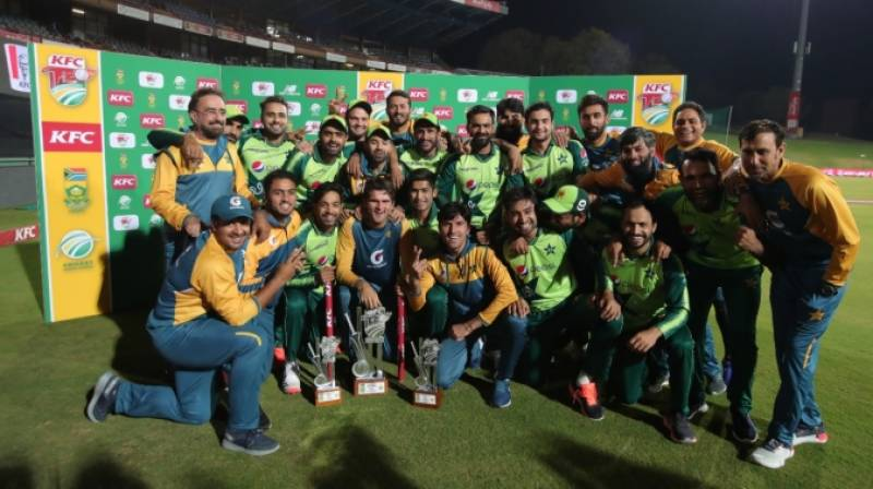 PCB congratulates Babar Azam-led team on achieving feats during South Africa tour