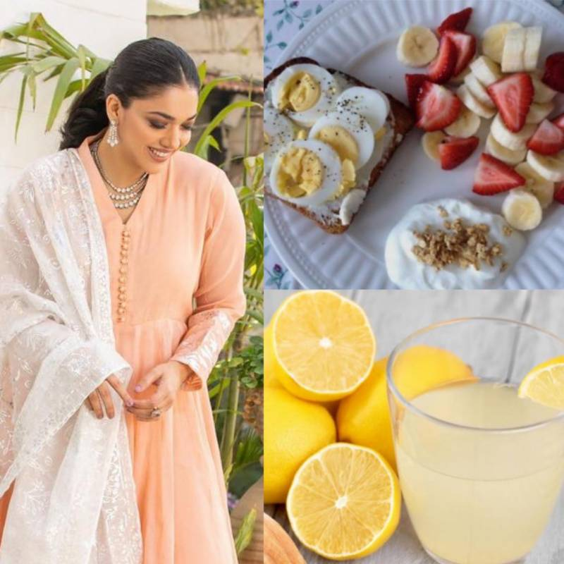Sanam Jung reveals the ultimate diet plan to loose 5kg in Ramadan (VIDEO)