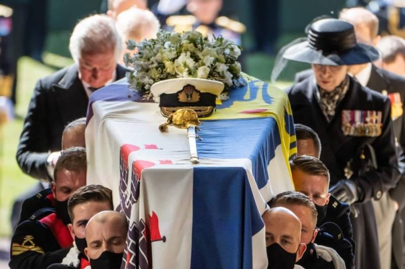 Buckingham Palace bids farewell to Prince Philip in limited funeral