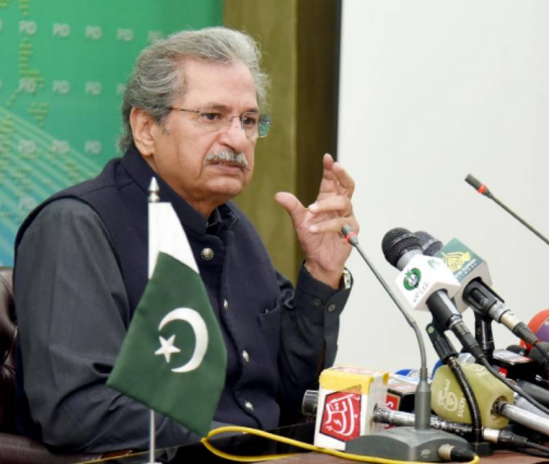 9 to 12 classes to start from tomorrow; primary schools to reopen after April 28: Shafqat Mahmood