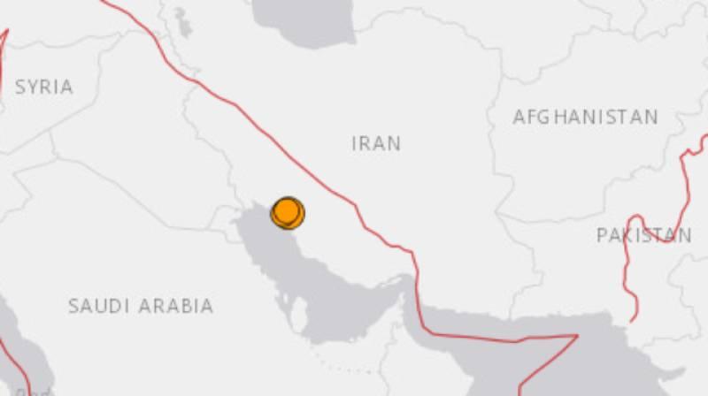 5.9 Magnitude Earthquake Hits Iran's Southern Province of Bushehr