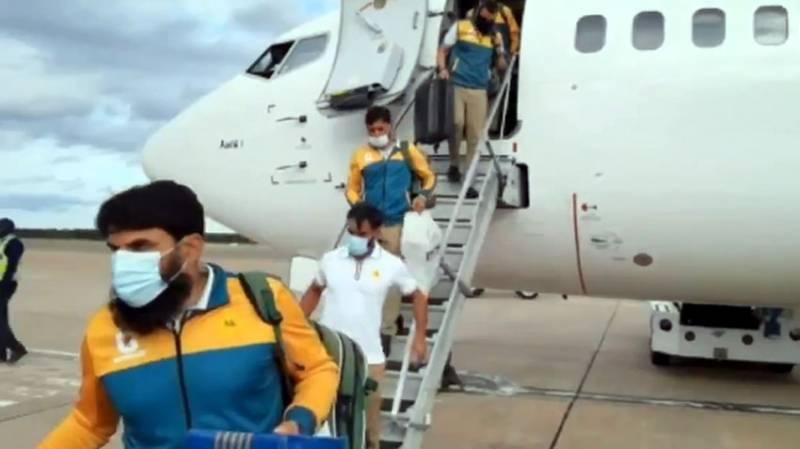 PAKvZIM: Green shirts arrive in Zimbabwe for T20I, Test Series
