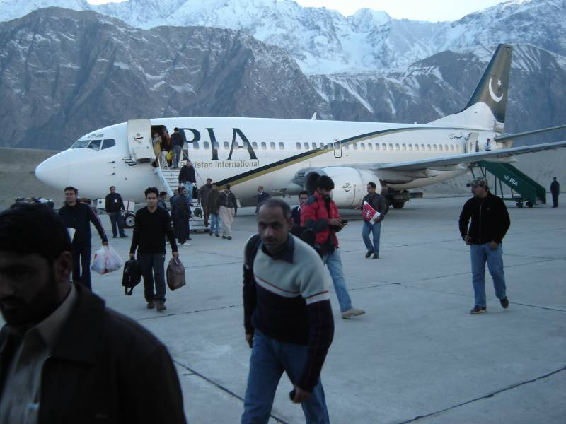PIA all set to start direct flights from Karachi to Skardu
