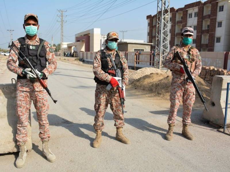 Security forces arrest five TTP terrorists in Sindh