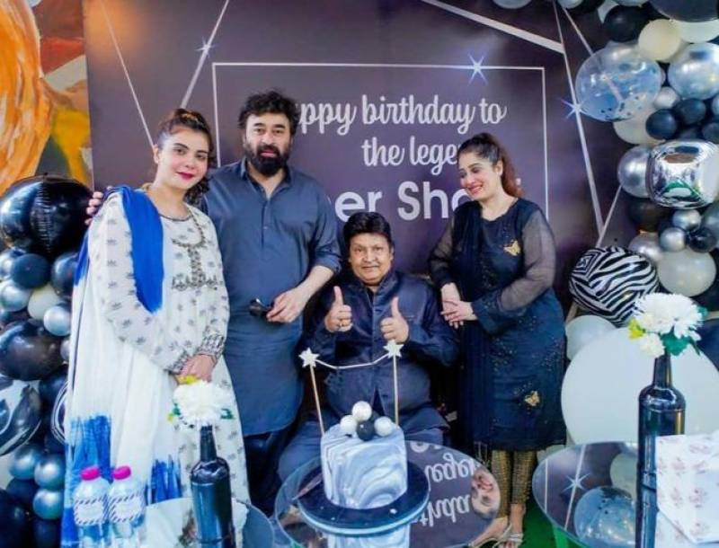Umer Sharif's birthday bash hosted by Nida and Yasir