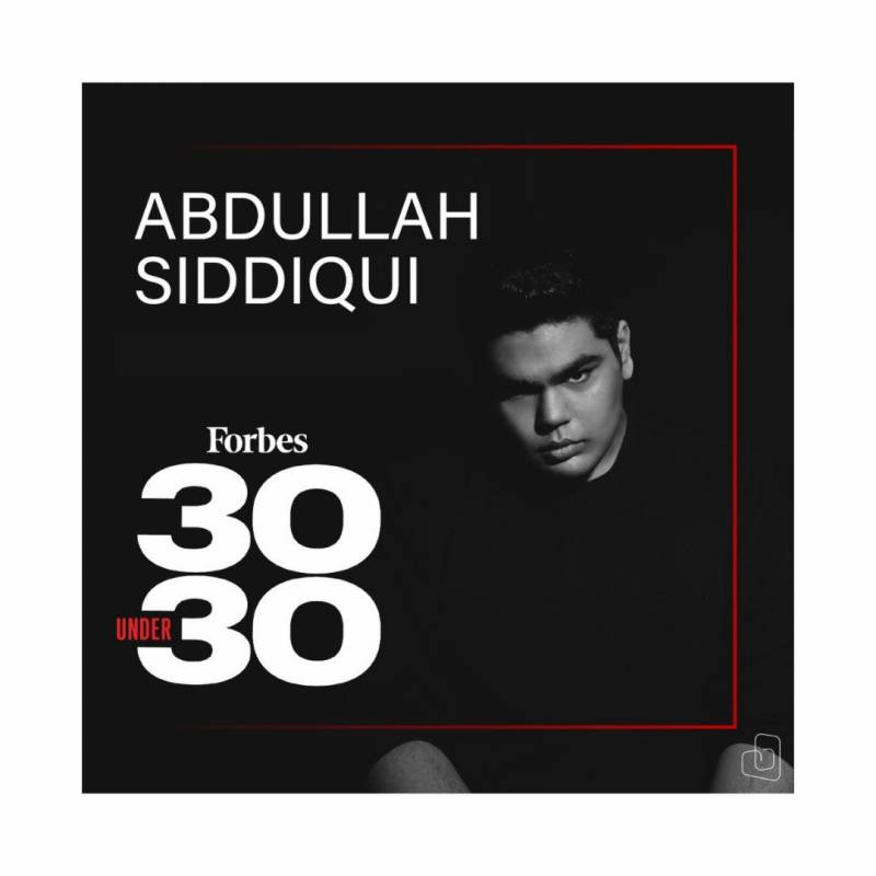 Pakistan's music producer Abdullah Siddiqui makes it to Forbes 30 Under 30 list