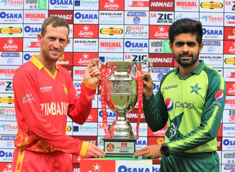 PAKvZIM – Trophy unveiled ahead of first T20 clash (VIDEO)