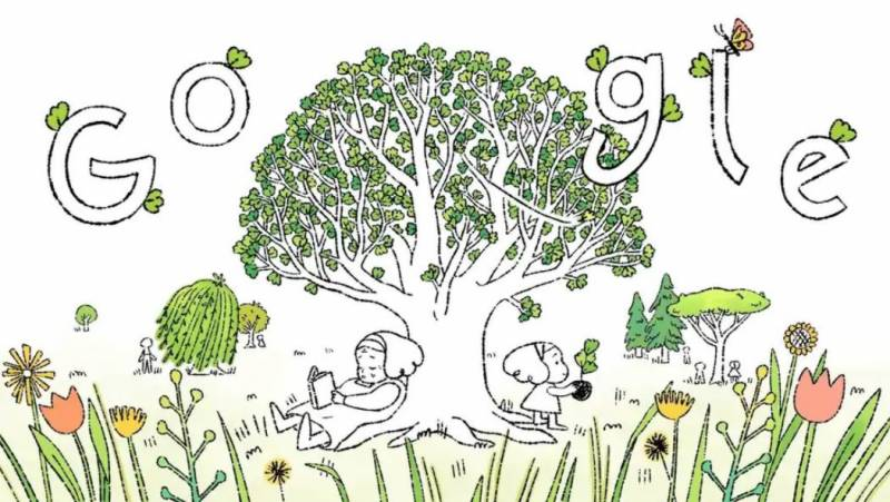 Google marks Earth Day with animated doodle, urges everyone to plant trees (VIDEO)