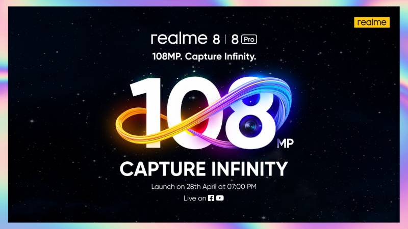 A Star-studded Launch of the realme 8 Series Awaits with a Spectacular Product Line-up