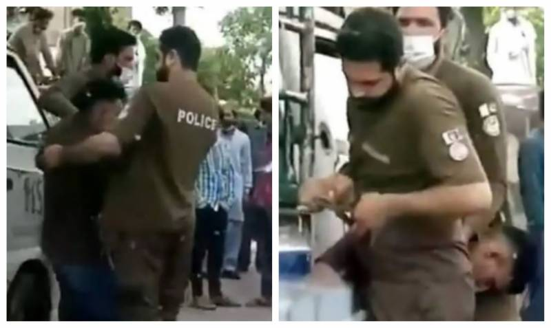 No, Punjab police aren't denailing this man in viral video; here's what happened