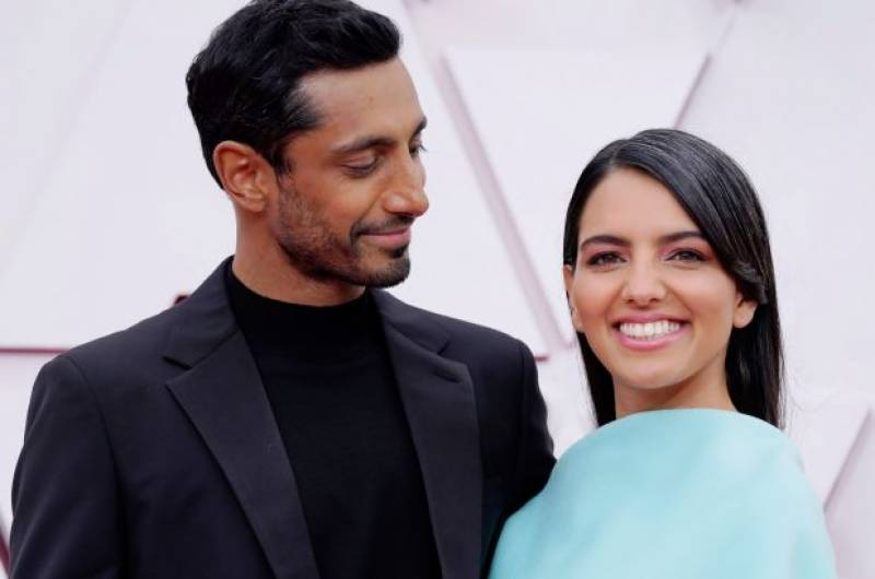 Video of Riz Ahmed fixing wife's hair at Oscars goes viral