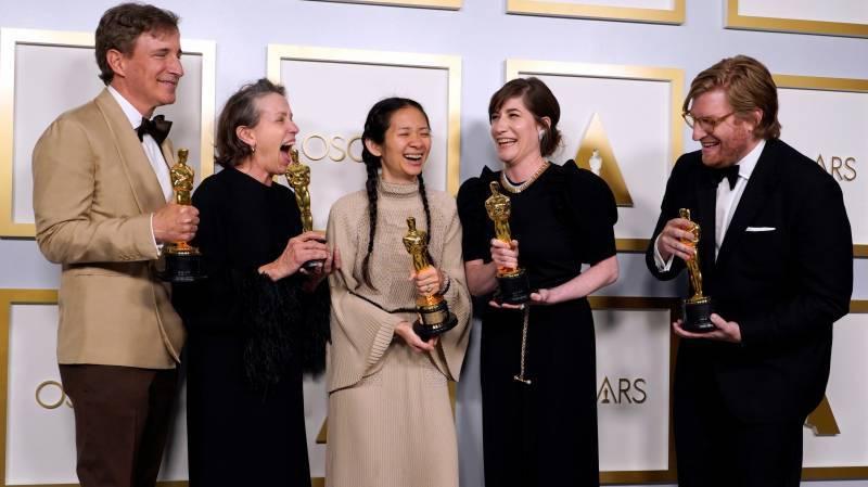 Oscars 2021: Historic wins for Nomadland and Anthony Hopkins