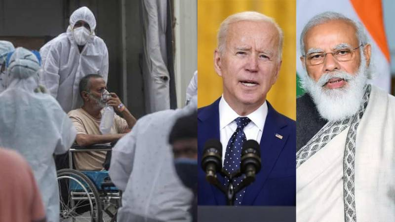 Biden pledges support to India amid Covid-19 crisis