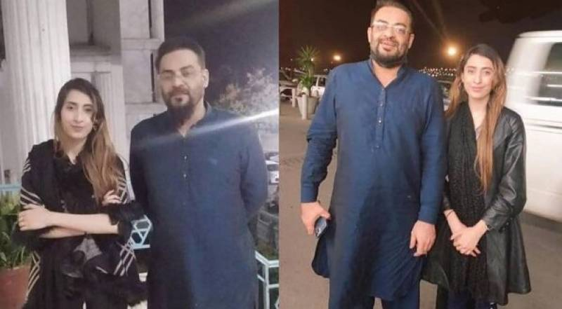 Haniya Khan goes live after Aamir Liaquat denies 'third marriage'; leaked audio call stirs new controversy