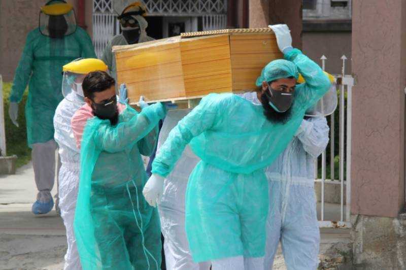 Covid-19: Pakistan reports biggest daily jump in death toll since outbreak