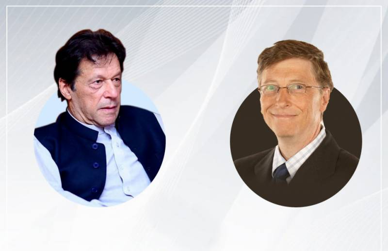 PM Imran discusses Covid-19, polio eradication and climate with Bill Gates