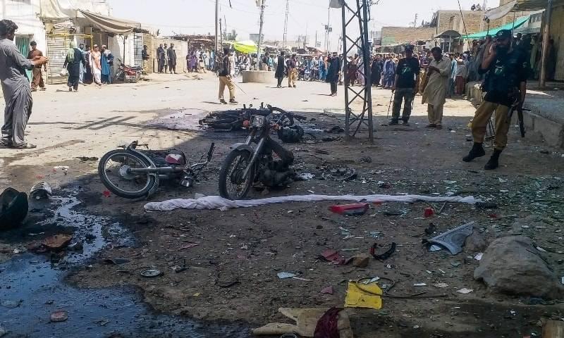 Policeman martyred, several injured in Chaman blast