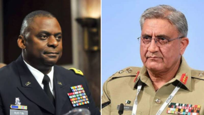 US defense chief discusses Afghanistan drawdown with Pakistan Army chief: Pentagon